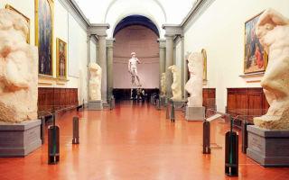 Галерея академии во флоренции: коллекция, билеты и часы работы