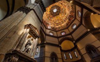 Собор и купол санта-мария-дель-фьоре во флоренции: история, часы работы, билеты