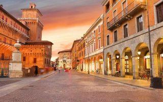 Достопримечательности города феррары в италии
