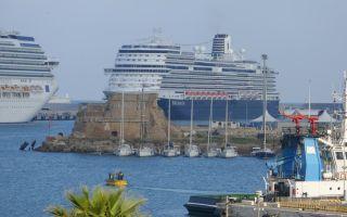 Круизный порт чивитавеккья неподалеку от рима