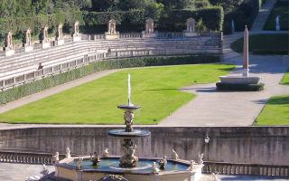 Сады боболи во флоренции: история, часы работы, билеты