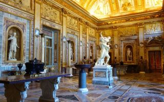 Музей галерея боргезе в риме: произведения, часы работы и билеты