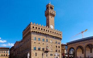 Палаццо веккьо во флоренции: история, часы работы, билеты