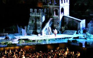 Оперный фестиваль в вероне 2017:  история, афиша, билеты