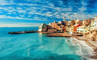 Итальянская ривьера или жемчужины побережья лигурии.  часть i