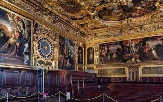 Дворец дожей в венеции: история, экспозиция и билеты