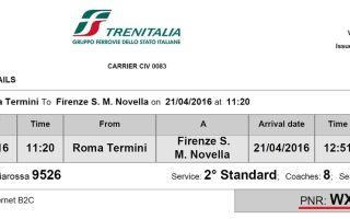 Trenitalia.com – официальный сайт и сложности для туристов