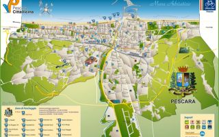 Пескара на карте италии: достопримечательности, отели, пляжи, как добраться