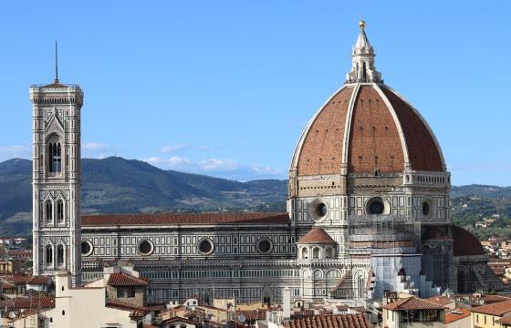 Кампанила Джотто во Флоренции - история фото описание время работы карта